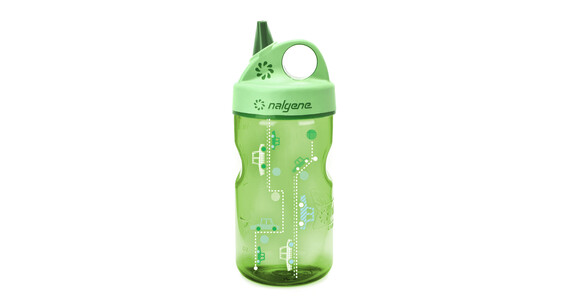 Nalgene Everyday Grip-n-Gulp Trinkflasche Autos grün
